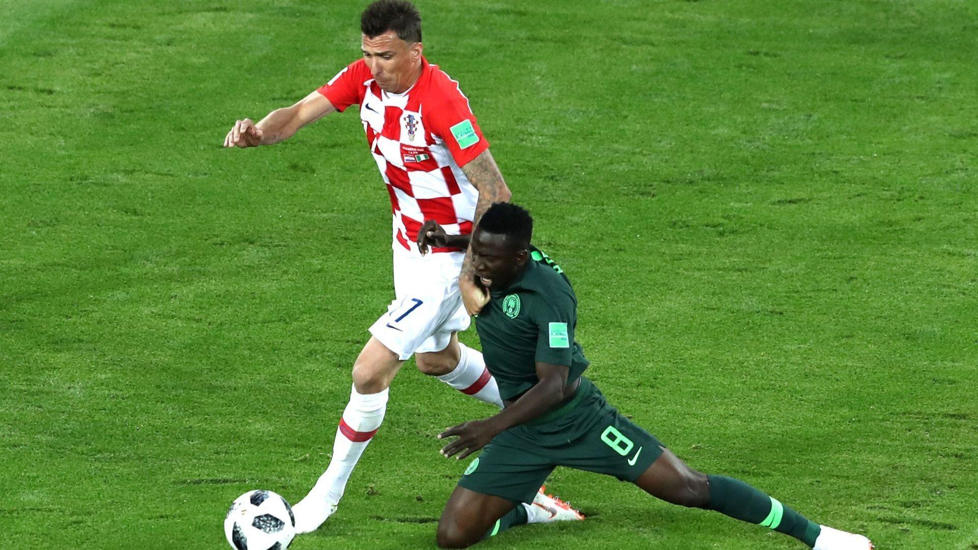 Хърватия - Нигерия 2:0 (статистики)