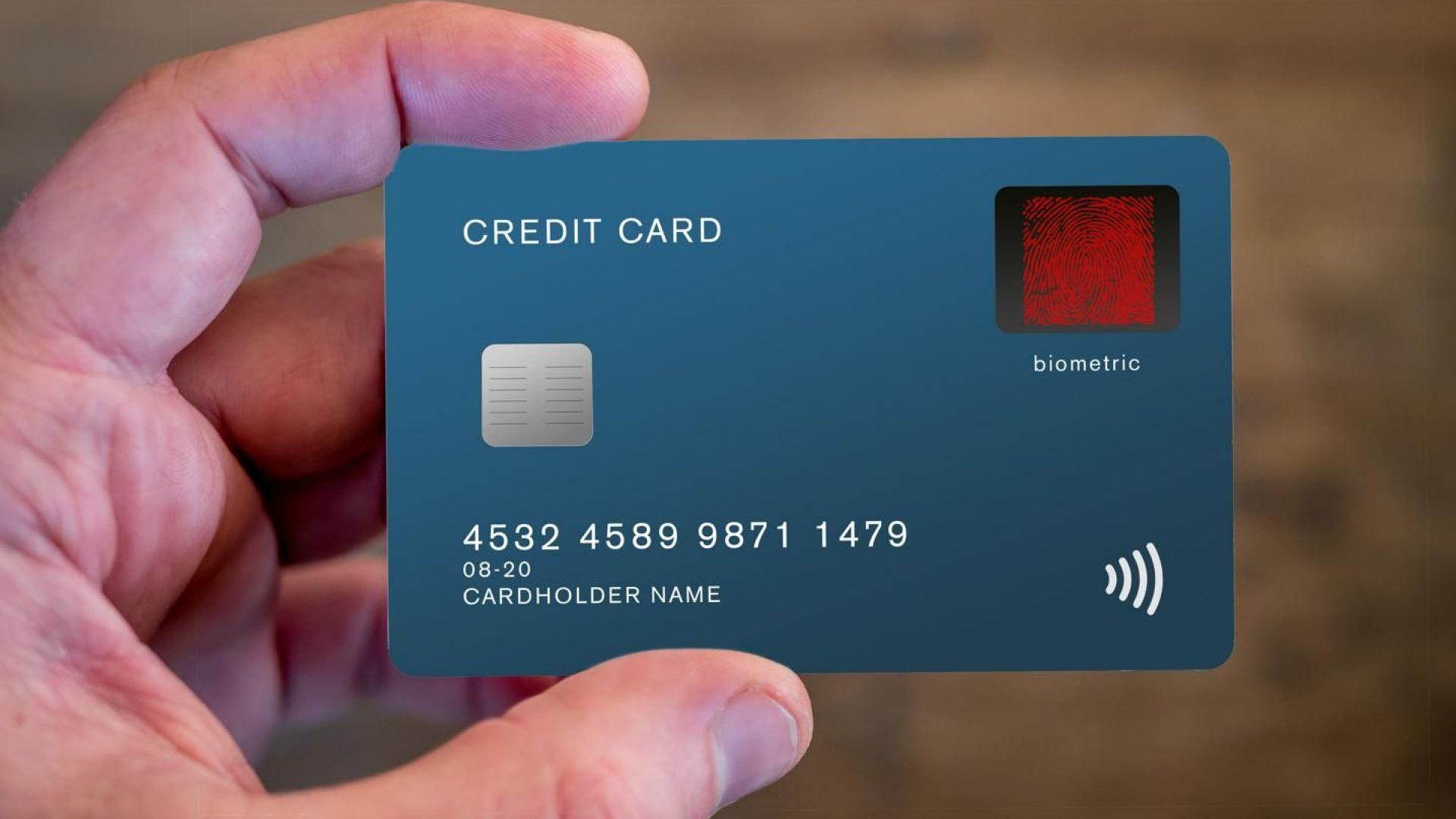 Великобритания: Банковите карти вече ще са с пръстов отпечатък