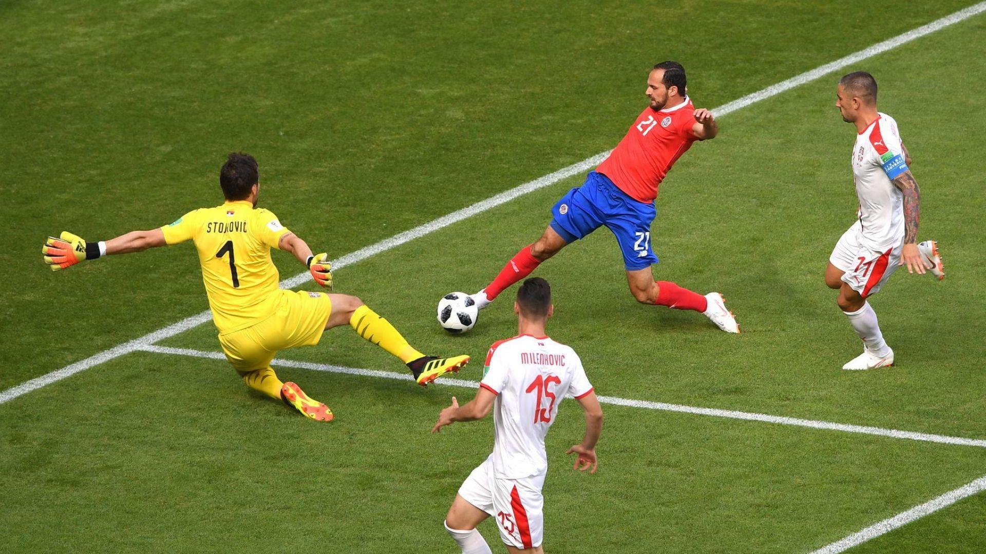 Коста Рика - Сърбия 0:1(статистики)