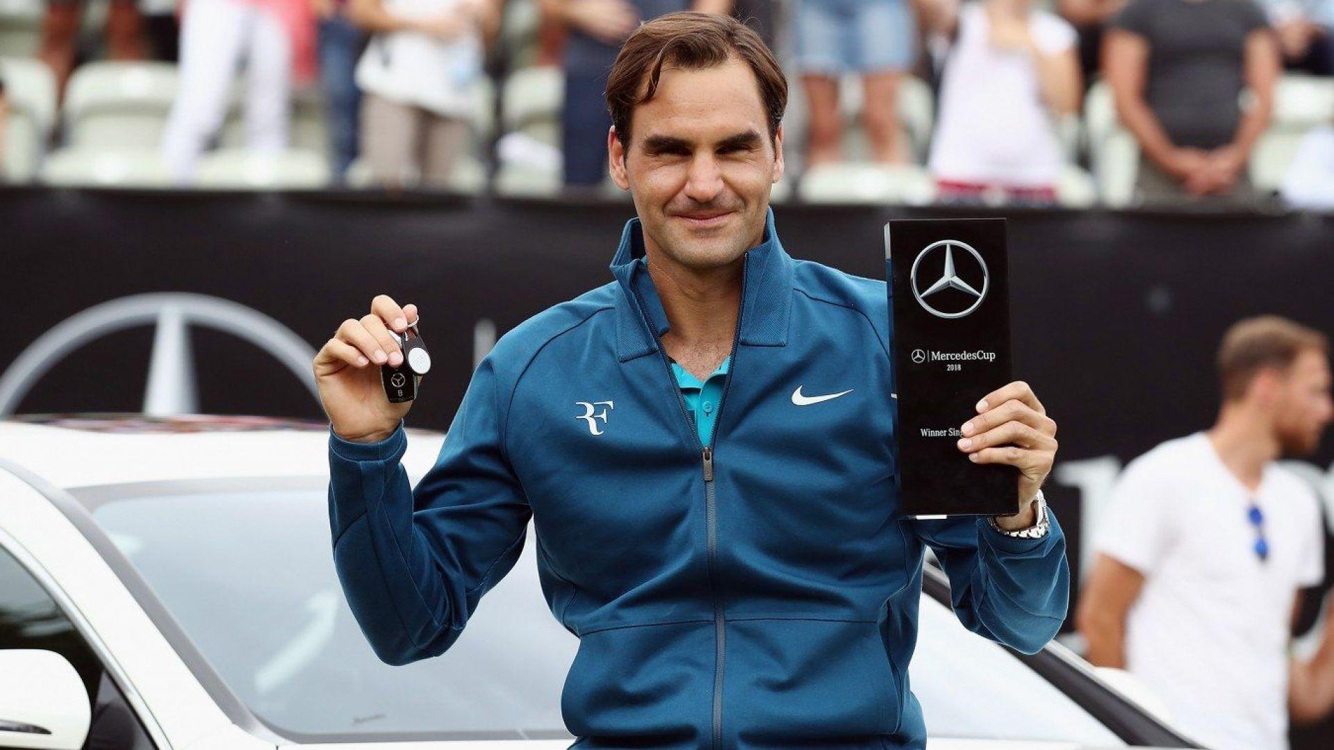 Защо Федерер печели повече пари от Надал?