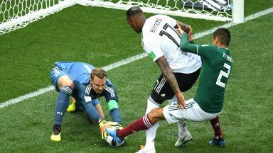 Германия - Мексико 0:1 (статистика)