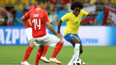 Бразилия - Швейцария 1:1 (статистика)
