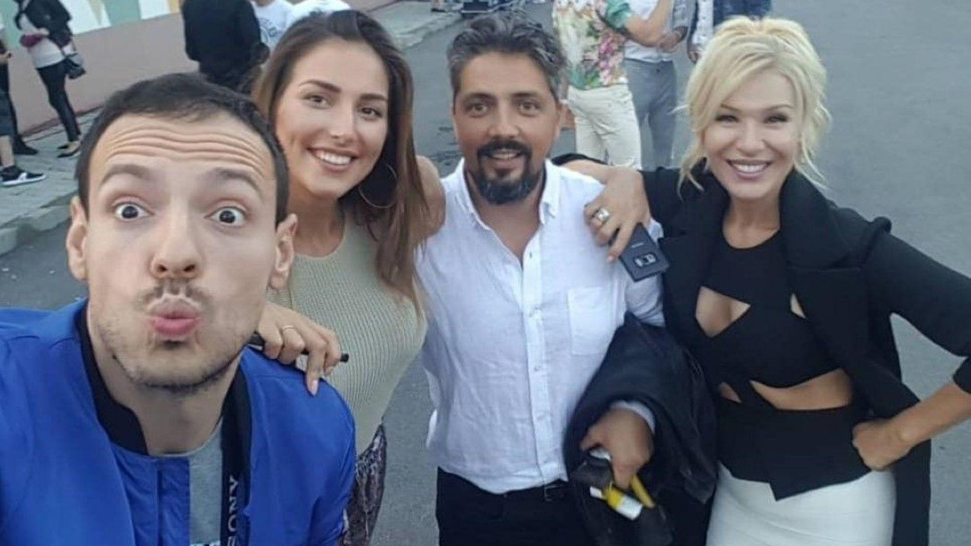 """Гала и Стефан купонясват с Петканови на наградите на """"БГ радио"""""""