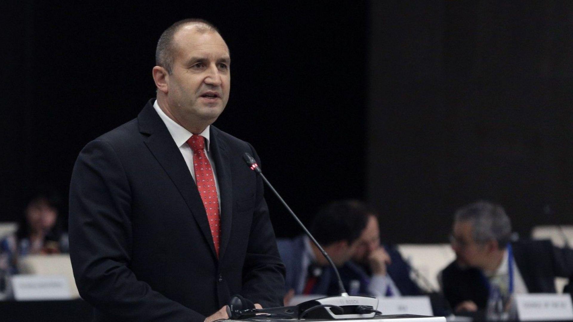 Радев: Правителството показа кураж като избра Западните Балкани за приоритет