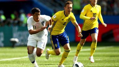 Швеция - Южна Корея 0:0 (на живо)