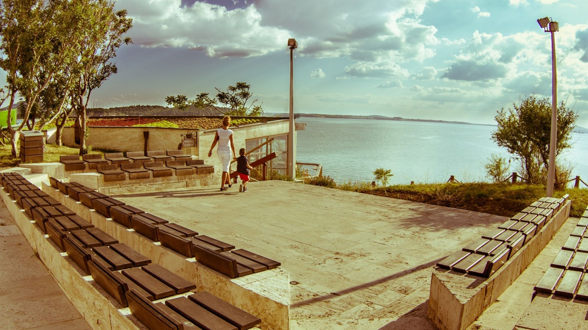 Остров Анастасия става сцена за театрални постановки