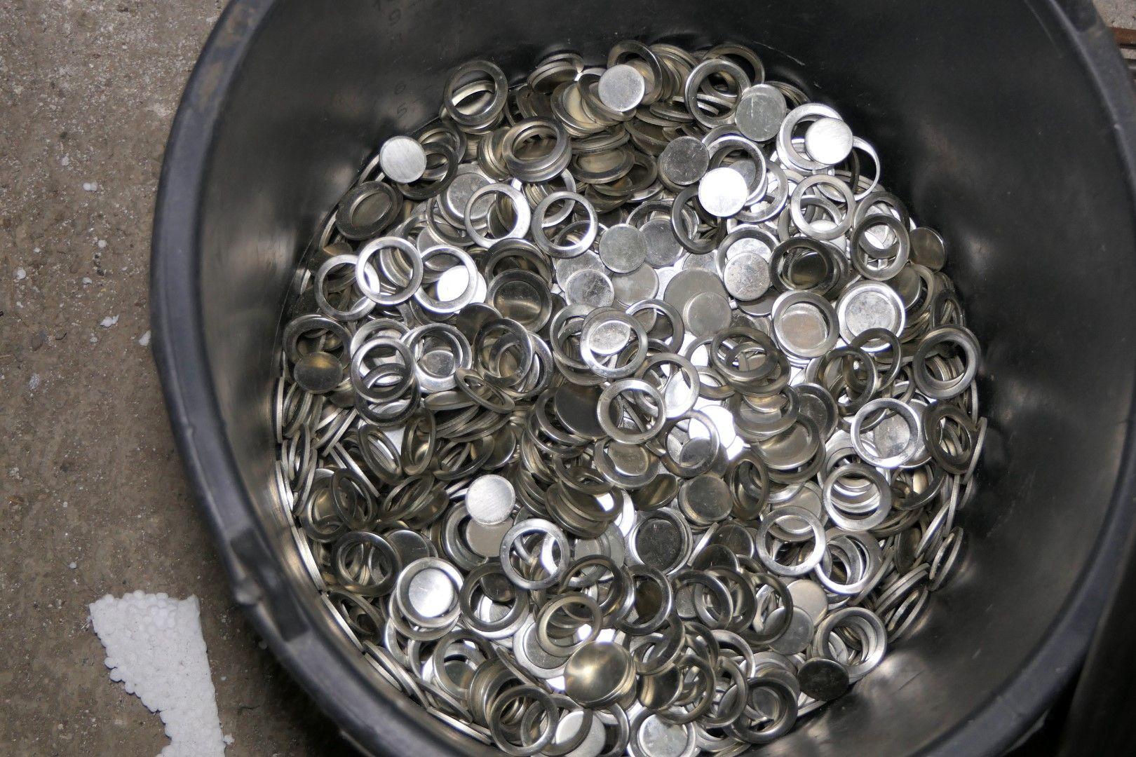Заготовки за фалшивите монети