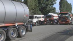 Дребните търговци на горива излязоха на протест