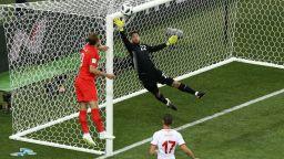 Англия - Тунис 2:1 (статистика)