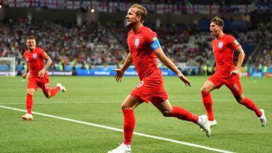 Капитанът Кейн донесе драматична победа на Англия