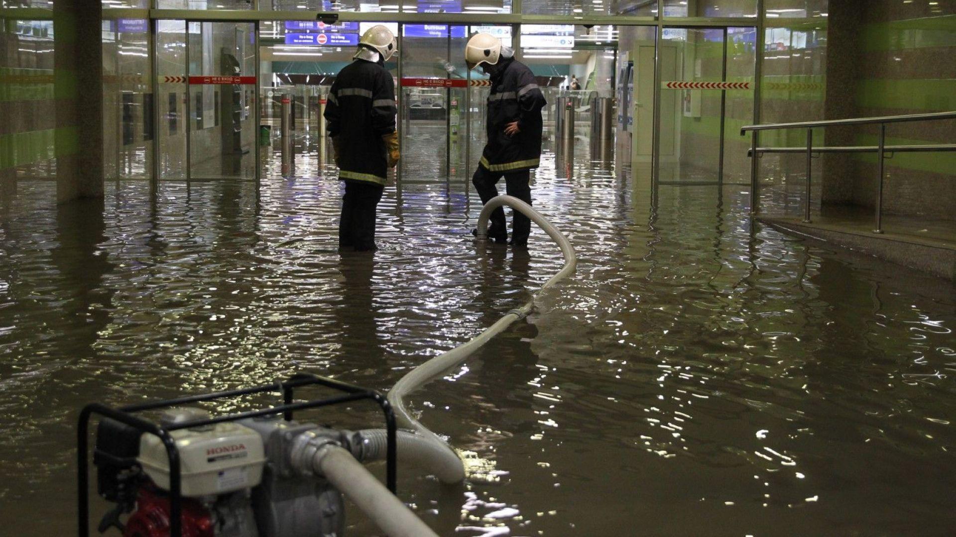 След потопа: КЕВР препоръча да се подобри ВиК мрежата на София