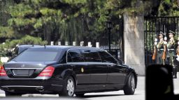 Ким Чен-ун пристигна на посещение в Китай