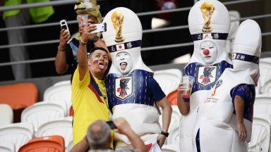 Колумбия - Япония (съставите)