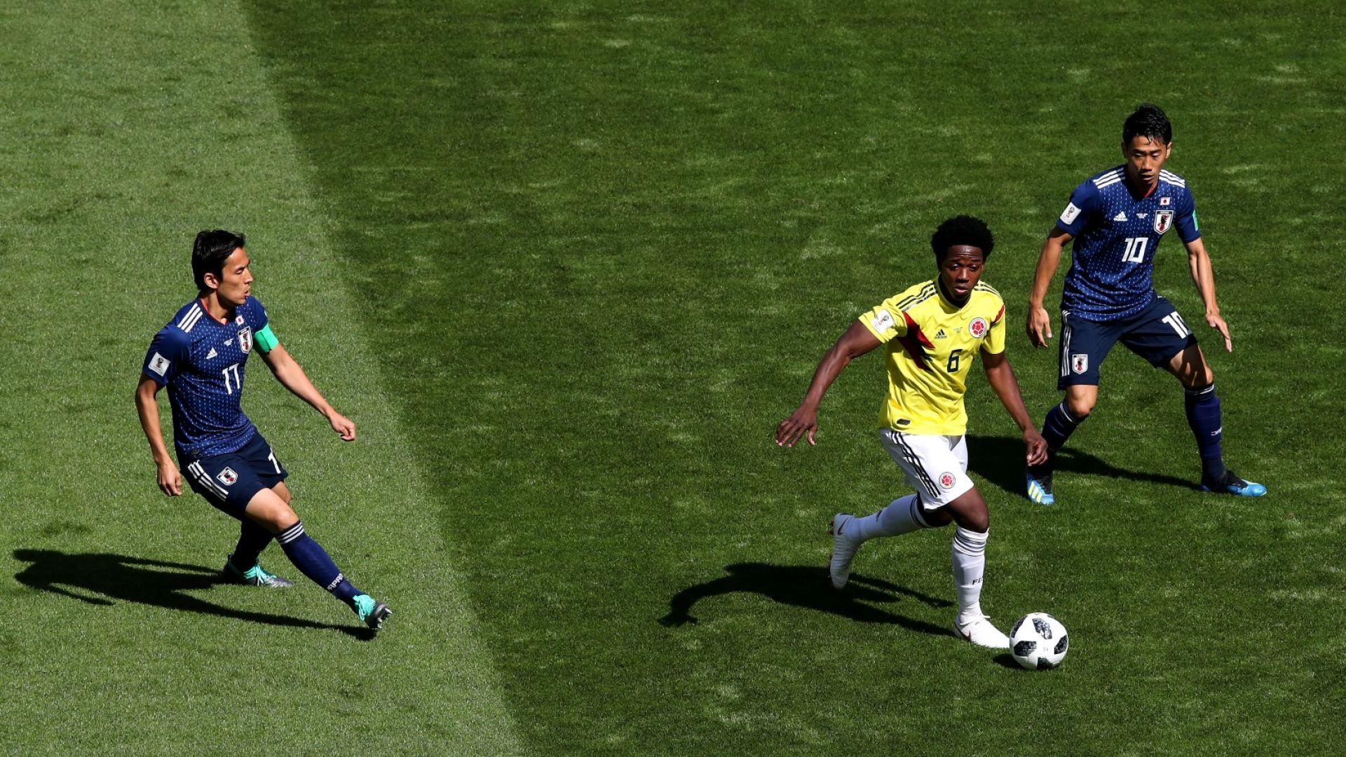Колумбия - Япония 1:2 (статистика)