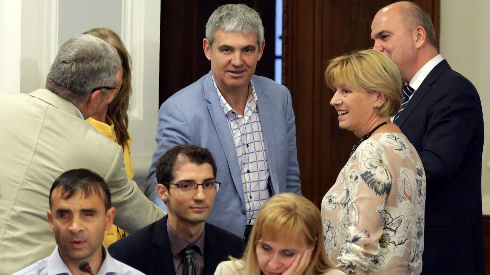 Лидерът на КНСБ Пламен Димитров поиска допълнително 100 млн. лева за хора с увреждания