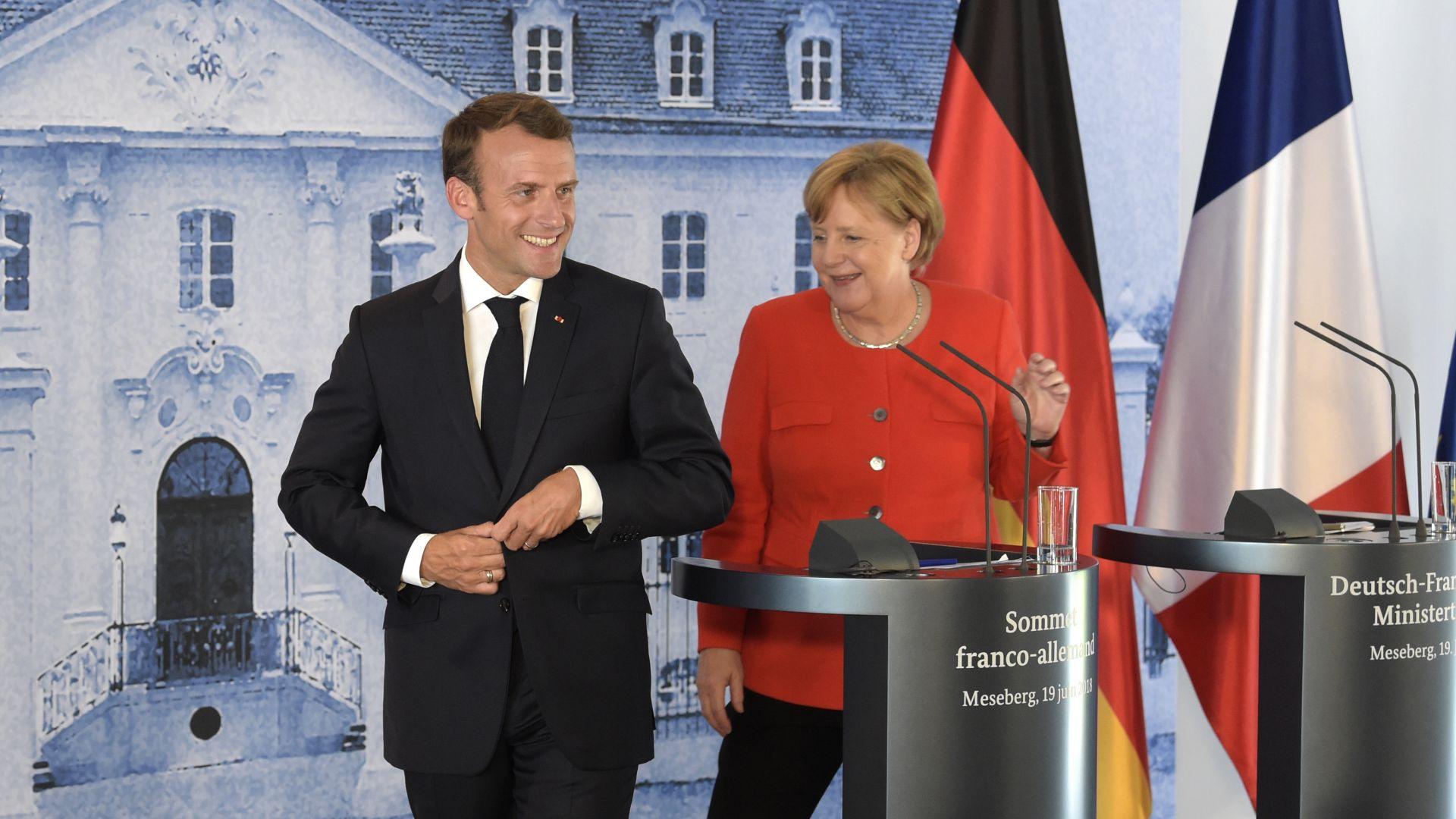 Макрон и Меркел договориха общ бюджет на еврозоната и ограничаване на миграцията