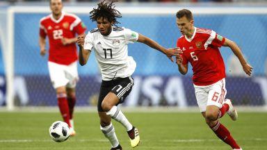 Русия - Египет 3:1 (статистика)