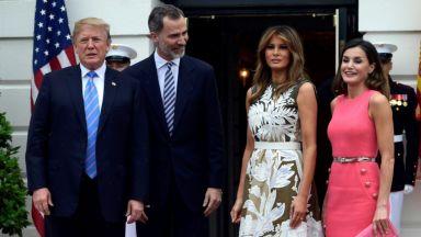 Кралица Летисия уважи Мелания с модния си избор за Белия дом