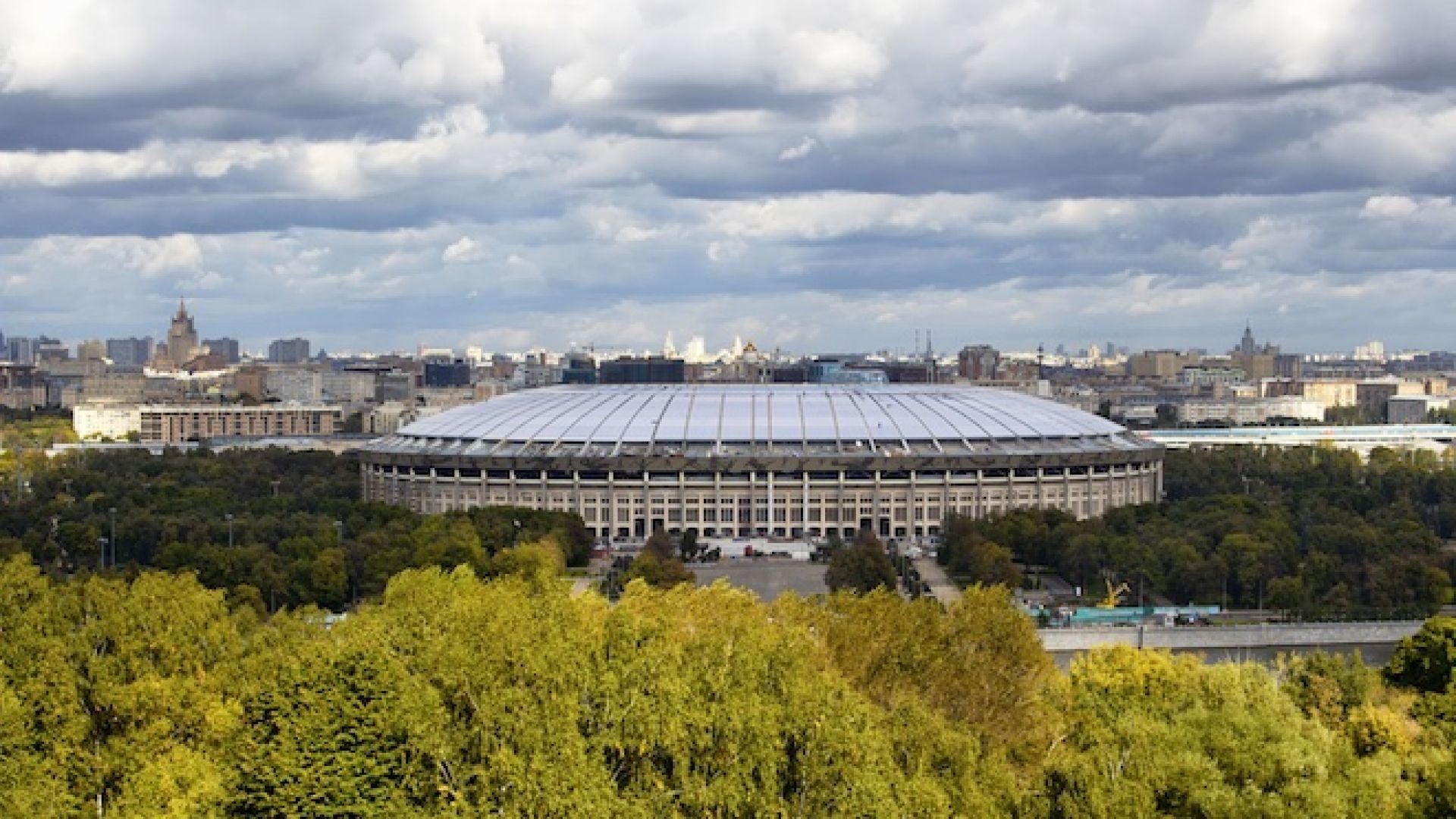 По стадионите в Русия: Ростов-слънчево, Казан - порои