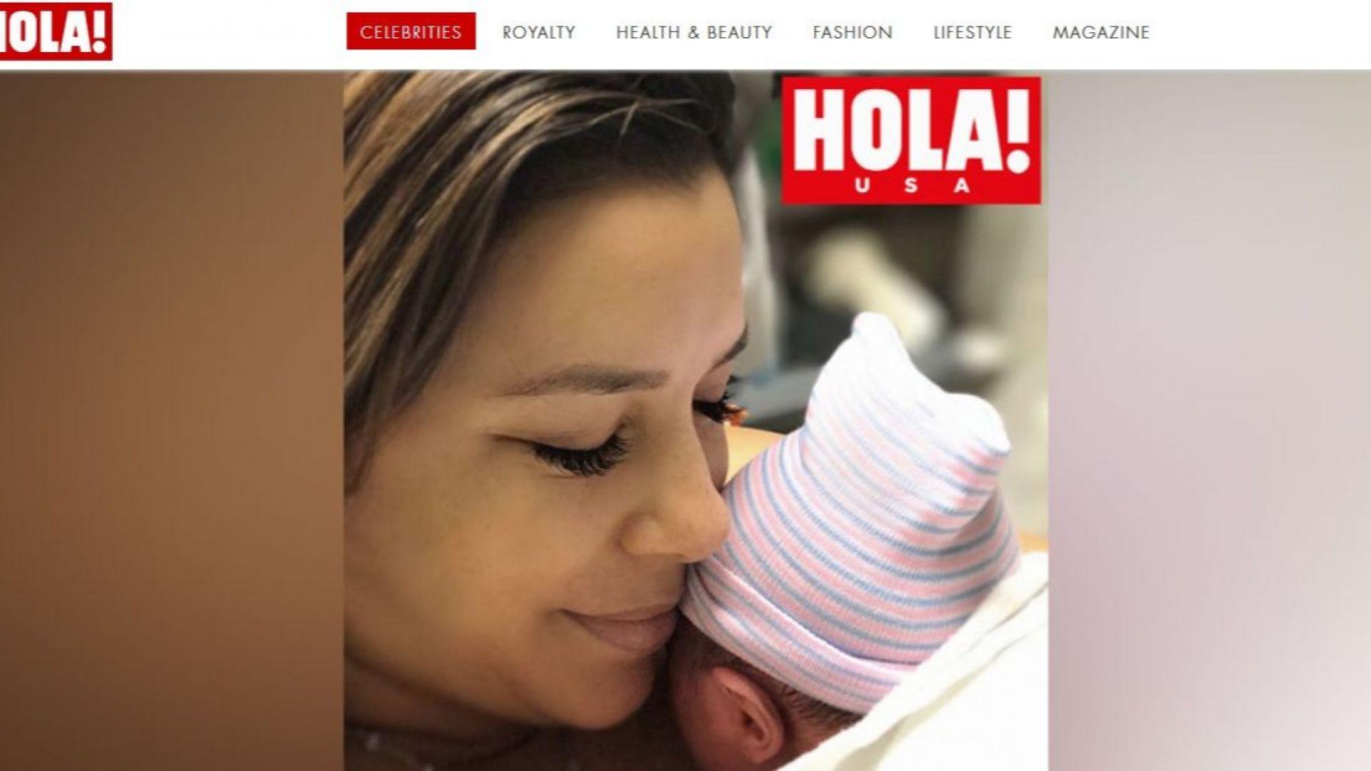 Ева Лонгория (43) роди първото си дете