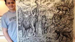 15-годишен гений рисува по памет детайлни картини на животни