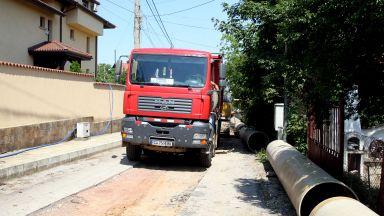 Столичната община работи по мащабен проект за доизграждане на канализация