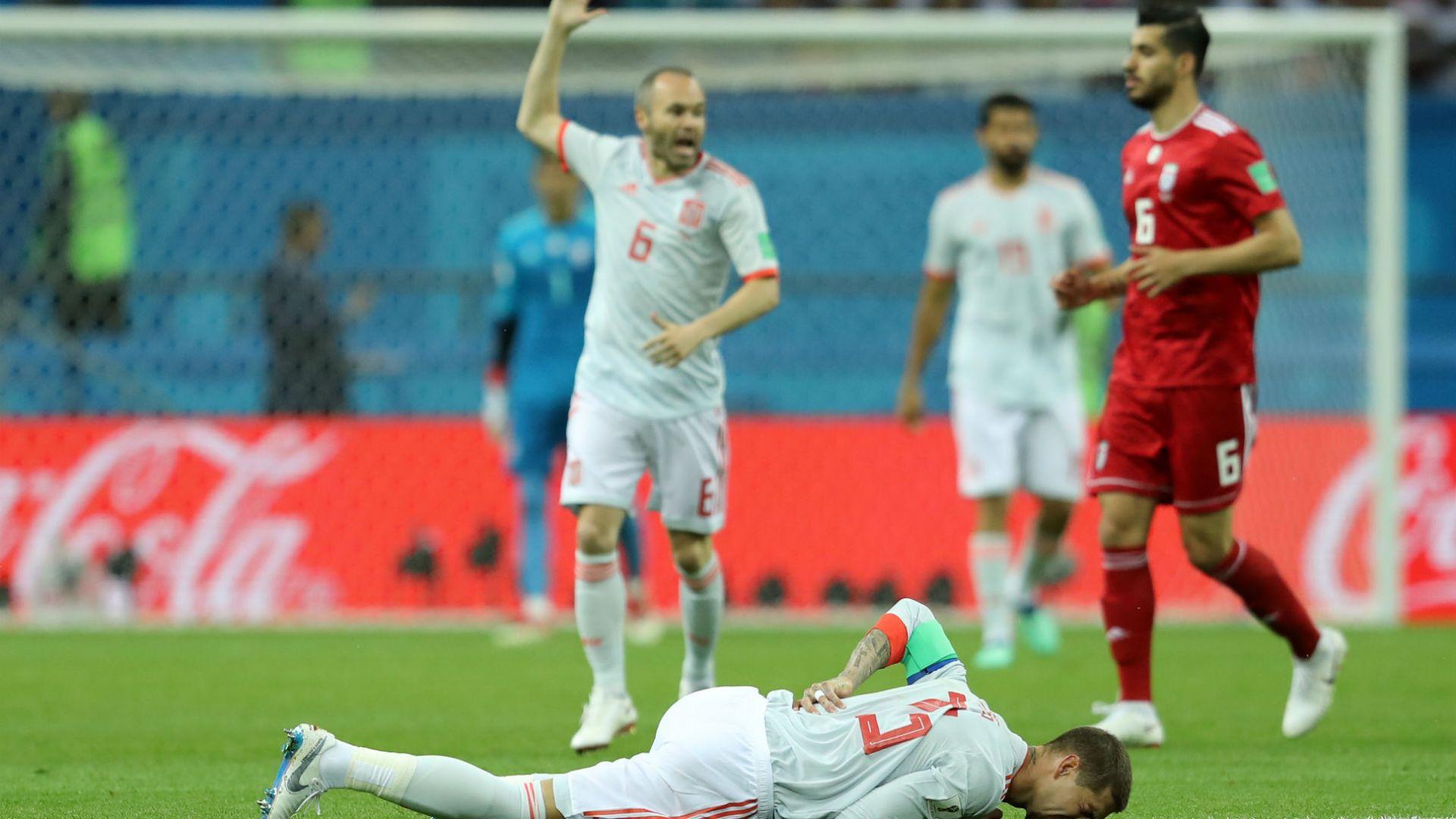 Испания - Иран 1:0 (статистика)