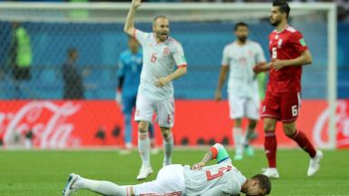 Испания - Иран 0:0 (на живо)