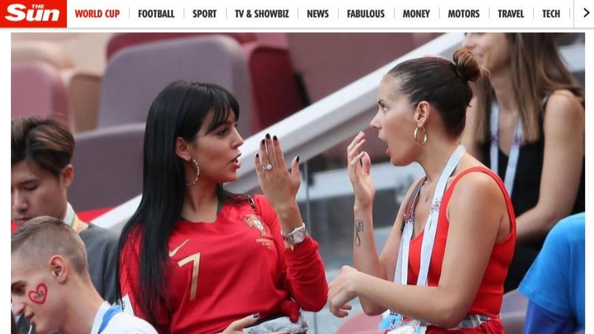 Джорджина показа внушителен годежен пръстен от Роналдо