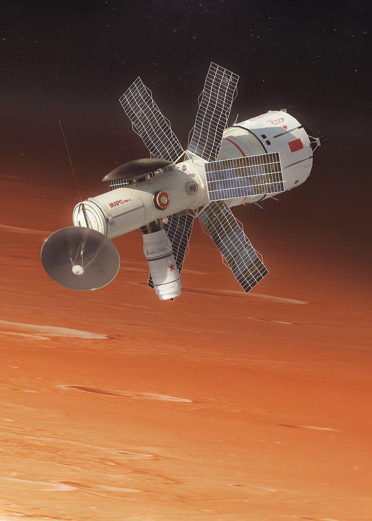 Корабът, предназначен за облитане около Марс