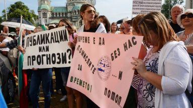 Метеоролозите спират протестите след обещание за пари