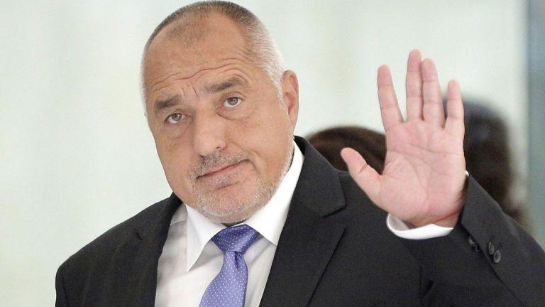 Премиерът Бойко Борисов, който се лекува от коронавирусна инфекция, след