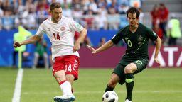 Дания - Австралия 1:1 (на живо)