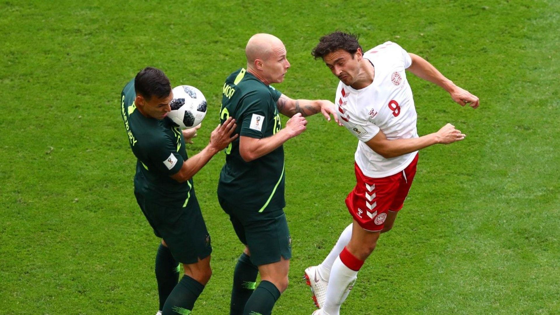 Австралия изпусна сив, но ефективен датски отбор