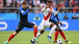 Франция - Перу 1:0 (статистика)