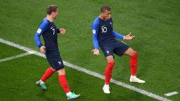 Франция се измъчи, но се класира на осминафинал