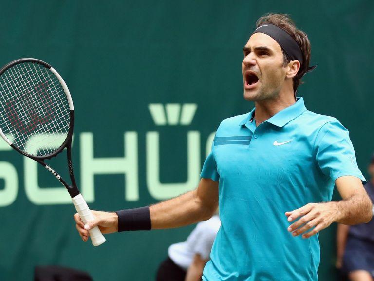 """Федерер спаси два мачбола и продължи """"зелената"""" серия (резултати)"""