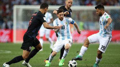 Аржентина - Хърватия 0:3 (статистика)