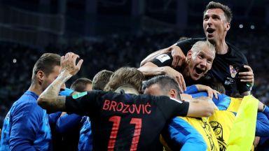 Хърватия празнува до зори: Величествена победа! Можем да стигнем до края!