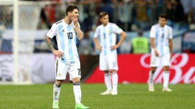 Легенда на Аржентина: Падението ни досега бе прикривано от гения на Меси