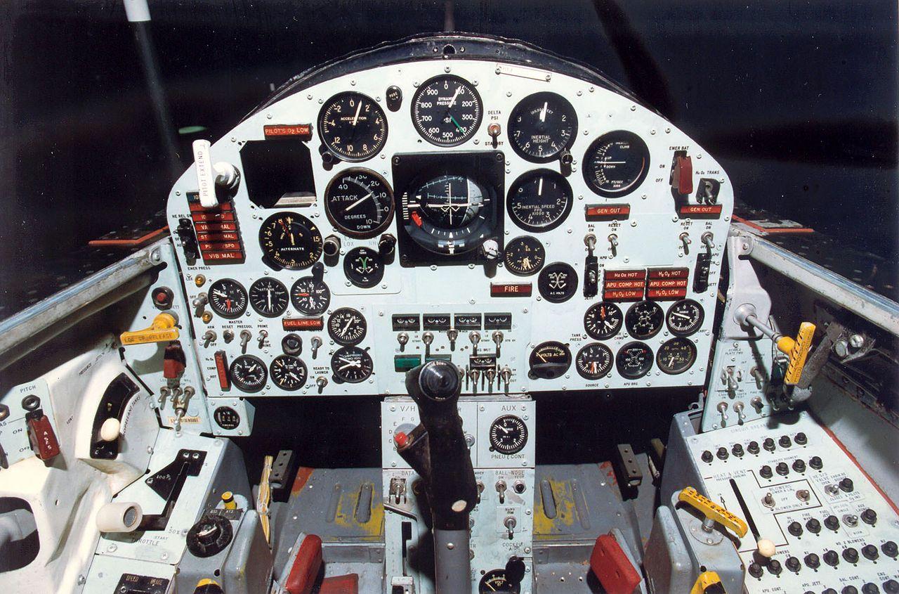 Кабината на X-15