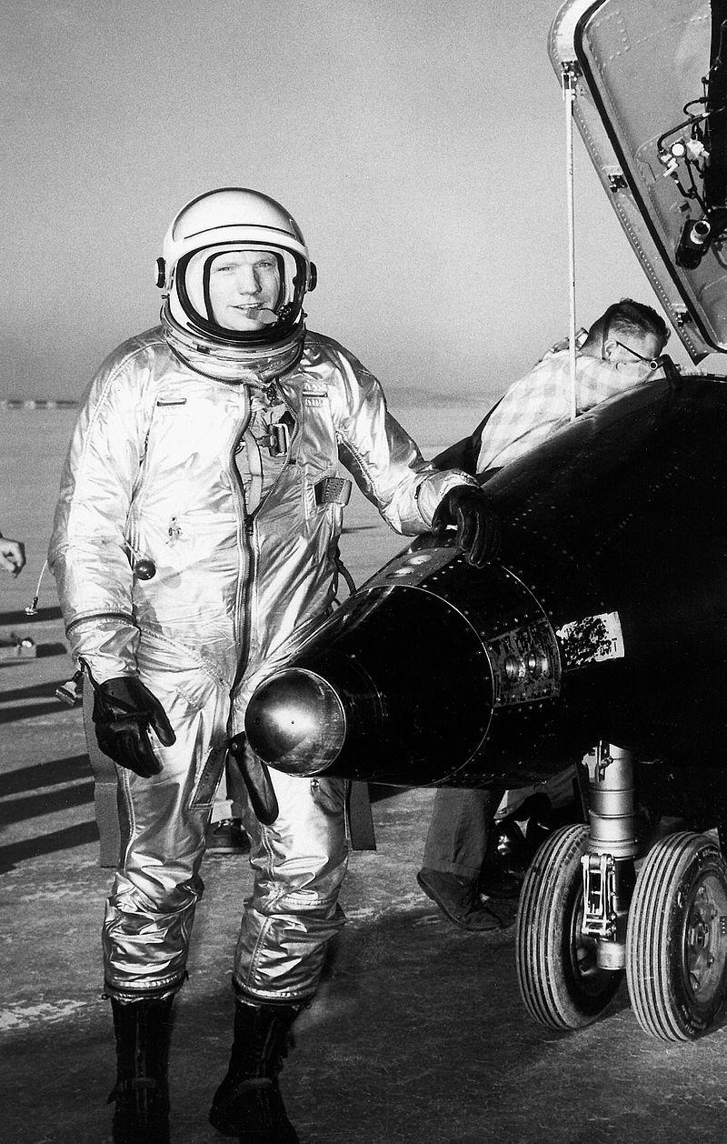 X-15 и Нийл Армстронг