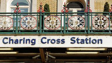 Арестуваха мъж, заявил, че занесъл бомба на гара Черинг Крос в Лондон