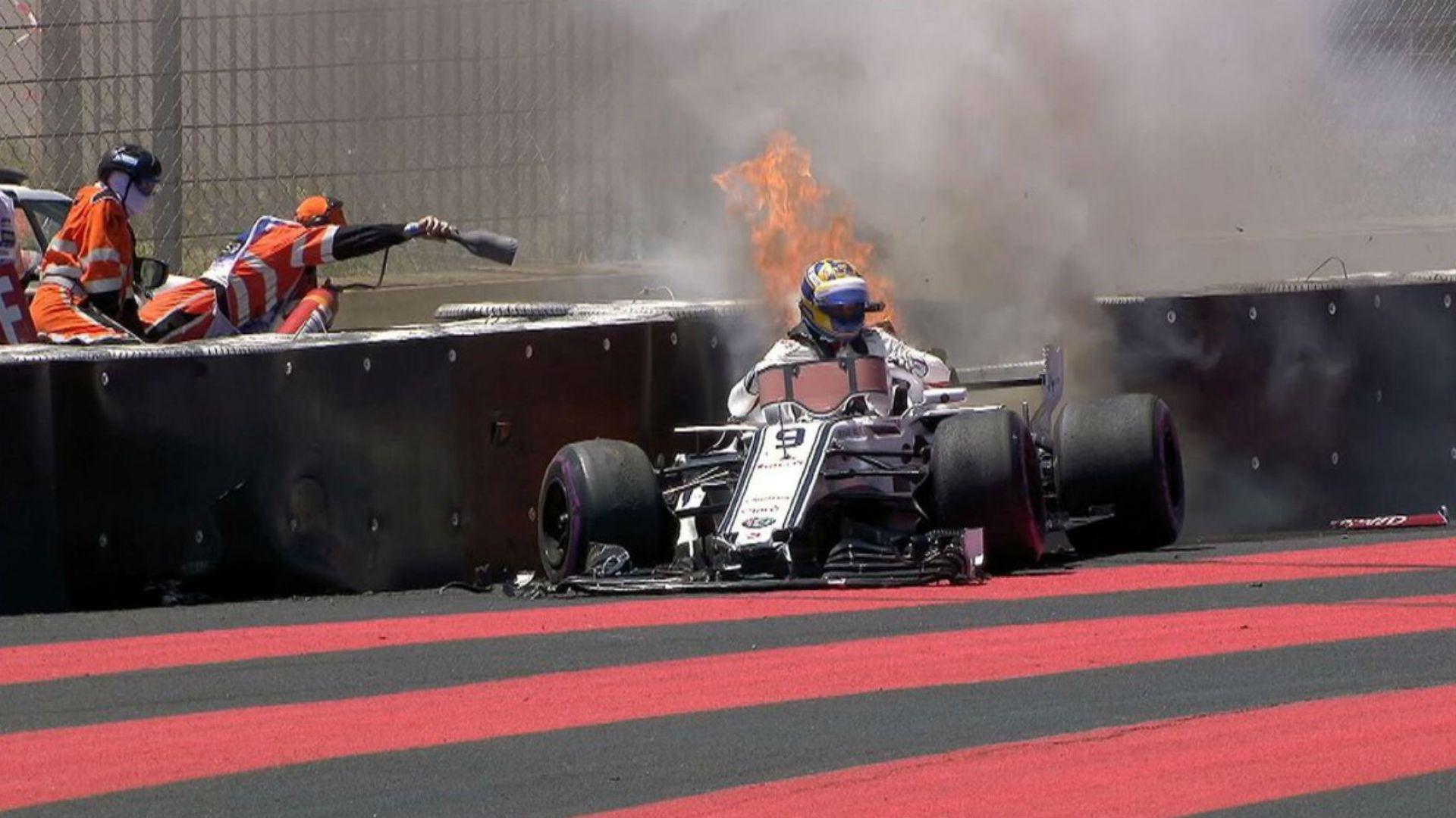 Ериксон се подпали във Франция, Хамилтън бе най-бърз