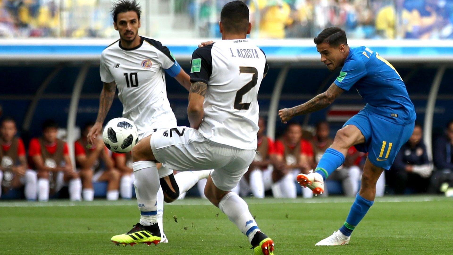 Бразилия - Коста Рика 2:0 (статистика)
