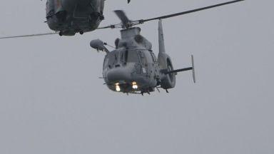 Хеликоптер се включи в издирването на избягалия затворник