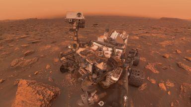 Прашната буря на Марс от първо лице