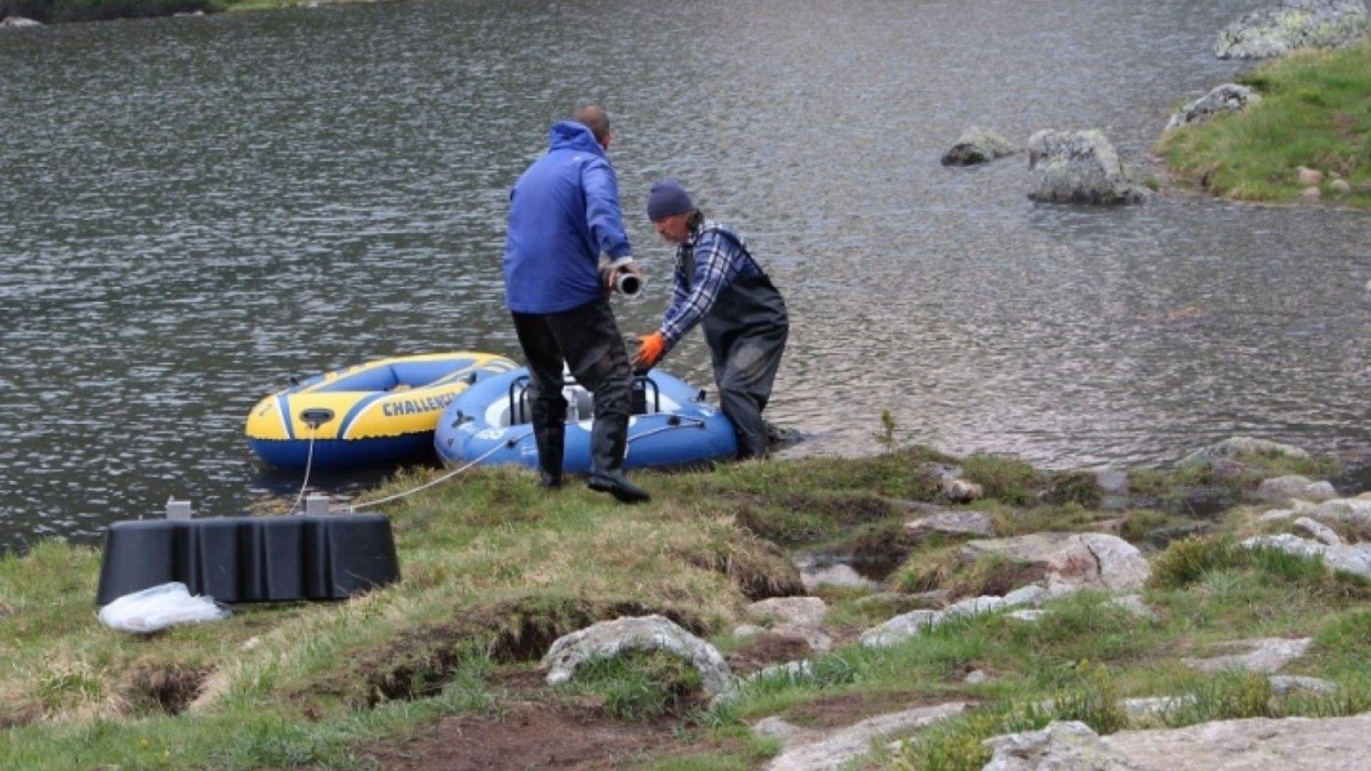 В района на Седемте рилски езера се провежда доброволческа акция