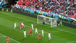 Сърбия - Швейцария 1:2 (статистика)