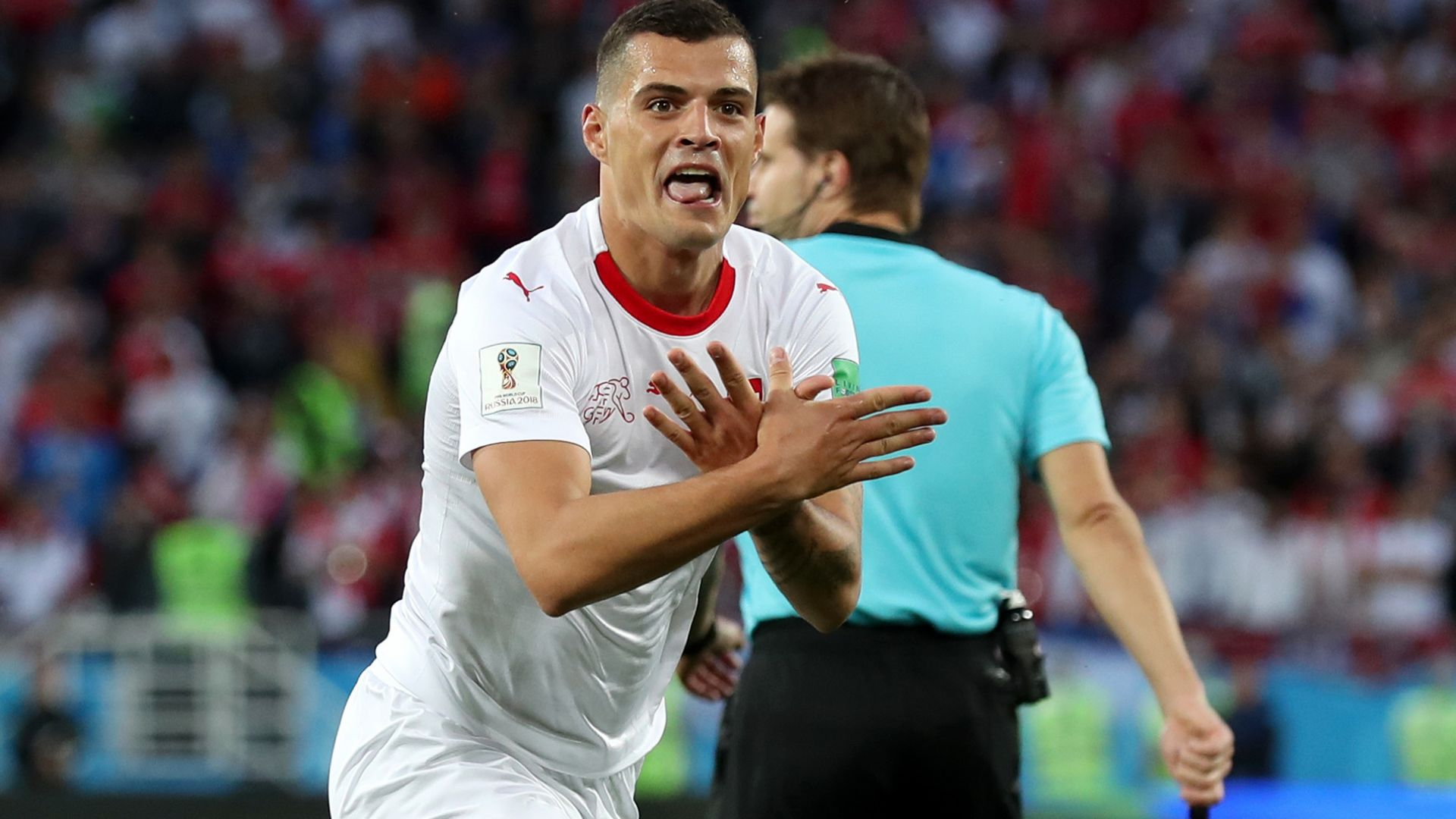 "ФИФА не посмя да накаже Шакири и Джака за ""двуглавия орел"""